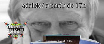Daniel Cario dédicace pour la fête de la Bretagne à Coop-Breizh Lorient