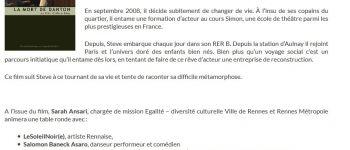 Vernissage et soirée de clôture, ciné-débat à Rennes au pluriel Rennes