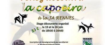 Capoeira : stage de découverte Rennes