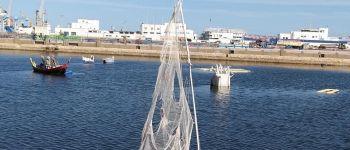 Le Vaisseau fantôme : cérémonie de départ Saint-Nazaire