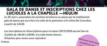 Inscription cours de danse La Chapelle-Heulin