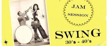 Jam Swing 30's-40's avec David Avait plus invités Nantes