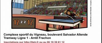 Tournoi régional du tennis de table Saint-Herblain