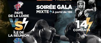 Gala de boxe Pays de la Loire/Île de la Réunion Nantes