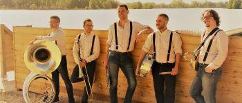 Les Bretelles Rouges, fanfare jazz Larmor-Plage