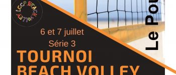 Tournoi beach-volley Le Pouliguen