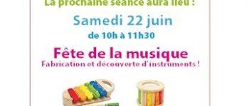 Fête de la musique de l'atelier parents-enfants de 9 mois à 4 ans Donges