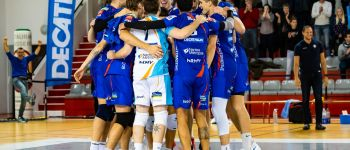 Volley : Ligue A masculine J20 : NRMV / Nice Rezé