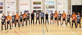 7e journée championnat France handball CJB contre Cherbourg Bouguenais