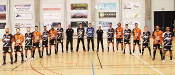 7e journée championnat France handball CJB contre Cherbourg Bouguenais