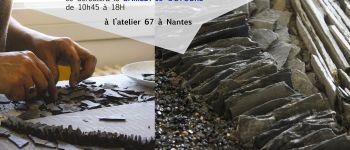 Stage de mosaïque an ardoise ancienne Nantes