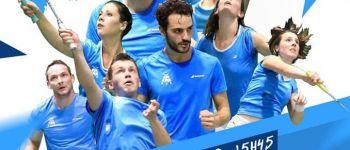 Journée 1 interclub nationale 2 de badminton La Chapelle-sur-Erdre