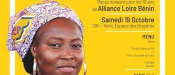 Alliance Loire Bénin fête ses 10 ans, soirée repas dansant Héric