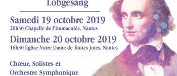 Chœur Anne-de-Bretagne : symphonie n° 2 « Lobgesang » de Mendelssohn Nantes