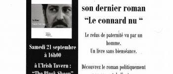 Dedicace de l'écrivain Arthur Saint-Servan au Black Sheep. Saint-Nazaire
