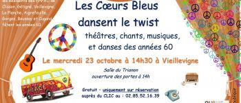 Théâtre, chants, musiques et danses des années 60 Vieillevigne