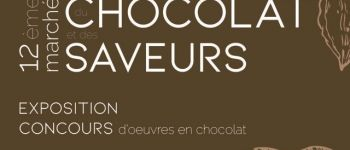 Marché du chocolat. Exposition d'œuvres en chocolat Le Croisic