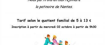 Sortie patinoire en famille Nantes