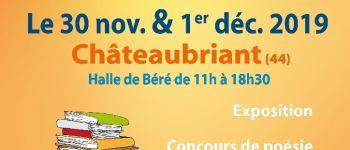 Salon du livre organisé par Aurores Étoilées Châteaubriant