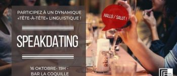 Speak-dating franco-allemand du mois d'octobre Nantes