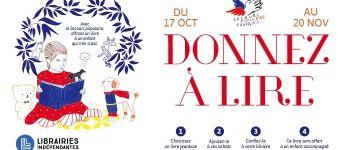 Donnez à lire 2019 : opération de lecture solidaire Saint-Nazaire