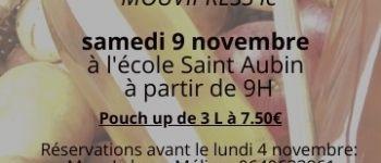 Vente de jus de pomme au profit des élèves de Saint-Aubin La Chevallerais