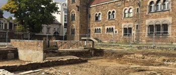 Visites du chantier de fouilles du musée Dobrée Nantes