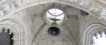 Le beffroi et l'orgue de l'église Notre-Dame-de-Bonne-Nouvelle Lorient