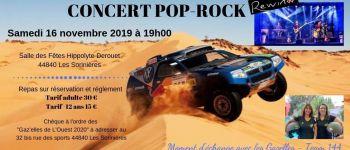 Soirée paella et concert pop-rock, rallye Aïcha des gazelles Les Sorinières