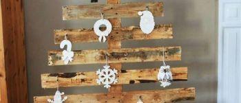 Atelier : fabrication de sapins de Noël en bois Rennes