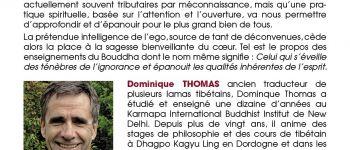 De la confusion de l'ego à la sagesse du cœur, Dominique Thomas Rennes