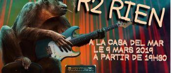 Concert Rock R2RIEN à la Casa Del Mar Plougasnou