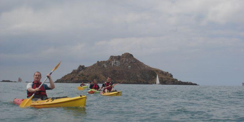 Découverte de l'ilot du Verdelet en kayak