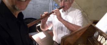Concert orgue et bombarde par M. Cocheril et L. Abgrall Plougasnou