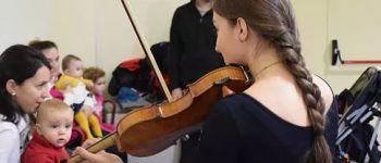 Atelier musical pour les familles avec Atlantic Folk Trio Trégastel