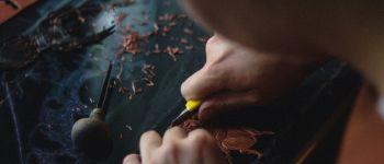 Atelier | La linogravure à l\école Saint-Nicolas-du-Pélem