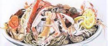 Repas de fruits de mer Locmélar