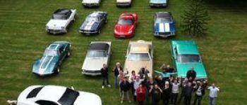 Rassemblement voitures anciennes l\American Cars Club d\Armor Binic-Étables-sur-Mer