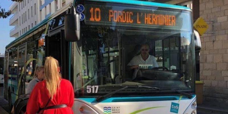 Bus et Parkings Gratuits à Saint-Brieuc !