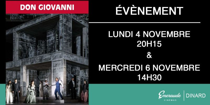 Opéra de Verdi - Don Giovanni au cinéma