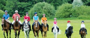 Stage d\équitation à la Haute Hairie pour tous Saint-MHervé
