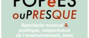 Spectacle musical - « Prosopopées ou presque » Douarnenez