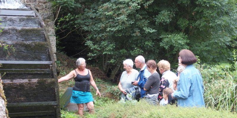 Mercredis de lété : Visite Ptit Moulin et Randonnée