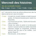 Mercredi des histoires Lamballe