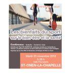 Conférence - Les bienfaits du sport Saint-Onen-la-Chapelle