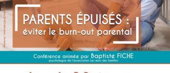 Conférence \Parents épuisés : éviter le burn-out parental\ Loudéac