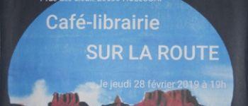 Concert dessiné  \Tracer la Route\ au Café-Librairie Sur la Route Huelgoat