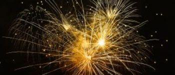 Retraite aux flambeaux et feu d\artifice Merdrignac
