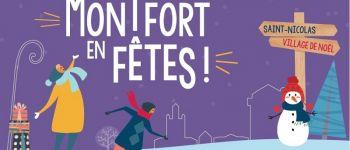 Montfort en fête - La patinoire de Noël Montfort-sur-Meu