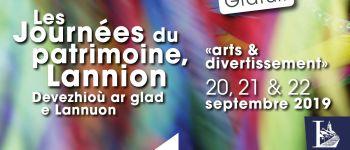 Lumières sur la fête des gras de Lannion - Journées du patrimoine Lannion